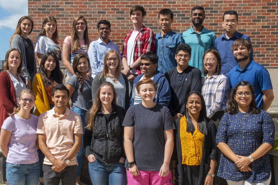 Group photo of 2019-20 class