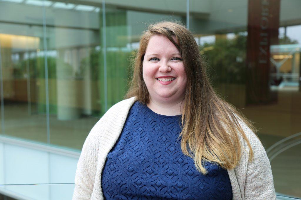 Grad student Molly McDevitt