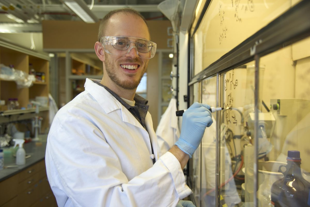 Assistant professor of chemistry and biochemistry affiliate Andrew Buller