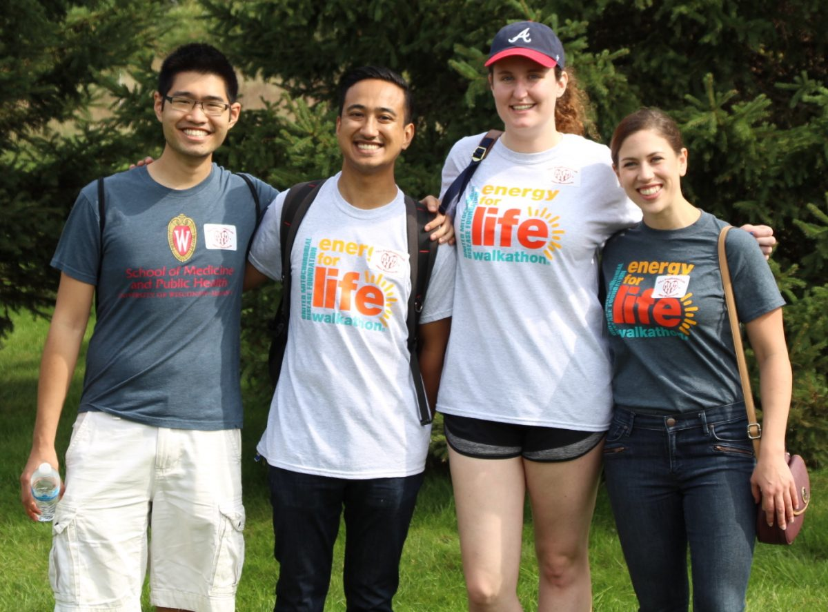 Pagliarini Lab members at the Energy for Life Walk