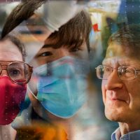 Collage of researchers featured in the story